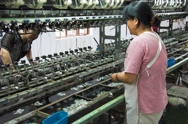 Suzhou - Making Silk