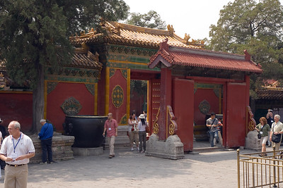 Forbidden City - Entrance to Imperial Garden
