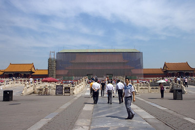 Forbidden City - Gate of Supreme Harmony