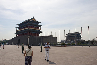 Tiananmen Square - Facing the Sun Gate and Arrow Tower