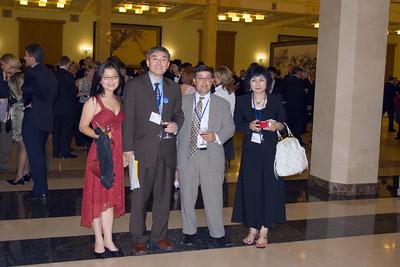 Ling, John, Bing Wang, and Flora at TAGLaw Dinner