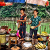 Food Stall on the Lesser Three Gorges, Yangzi tributary