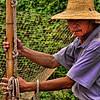 Fisherman on the Yangzi River