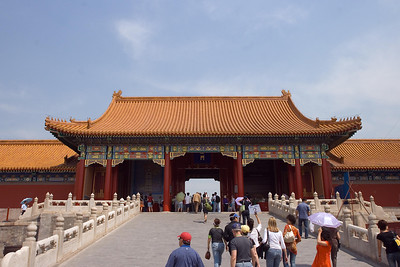 Forbidden City - Gate of Supreme Harmony (west)