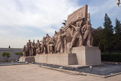 Tiananmen Square - Revolutionary Statue