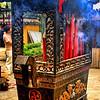 Burning incense, Souzhou