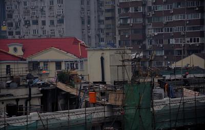 Renovation of old Shanghai