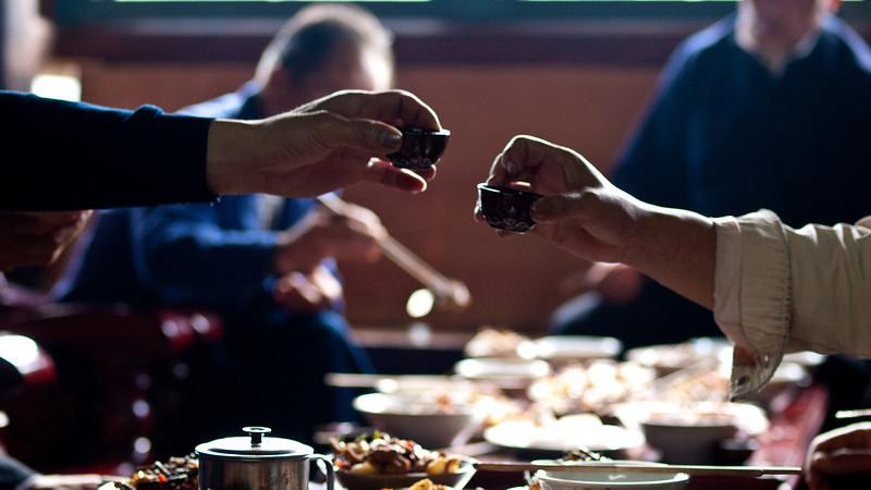 The wedding... Xijiang  & Rice wine
