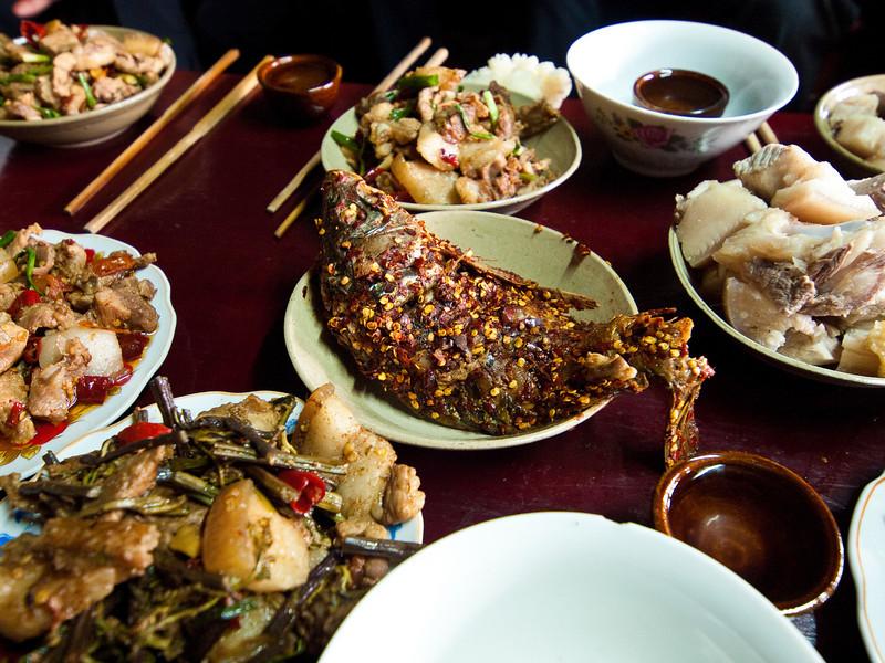 The wedding feast... Xijiang