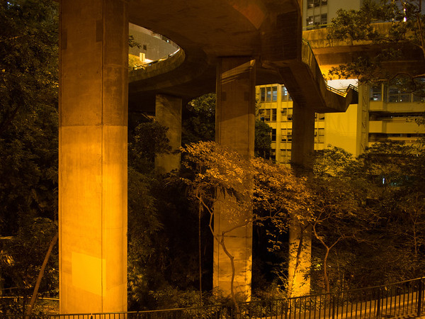 Crazy elevated road