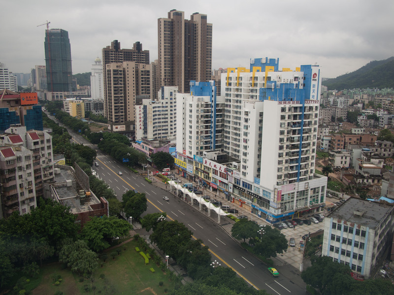 Downtown Zhuhai, China