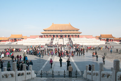 The Hall of Supreme Harmony in the Forbidden City.
