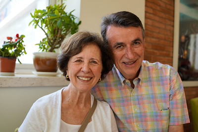 Marie and Bill Hennebery of Warren, New Jersey