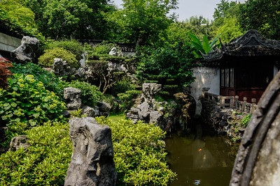 Rockery and Pond at Yu Garden
