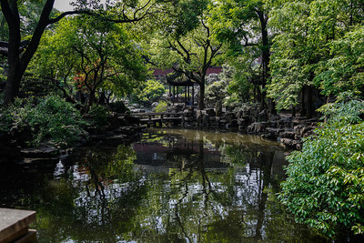 Pond and Rockery at Yu Garden