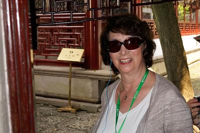 Pam Adelman at Yu Garden