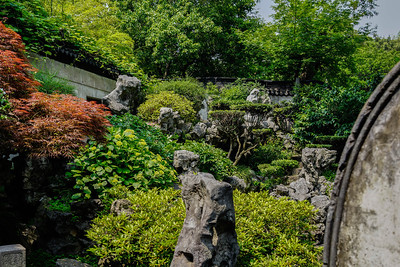 Rockery at Yu Garden