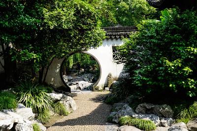 Circular portal at Yu Garden, Shanghai