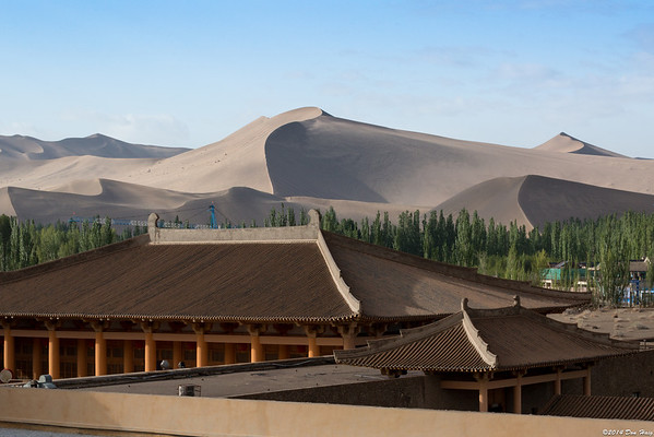 May 10-11 Dunhuang- Echoing Sand Dunes & Crescent Moon Lake