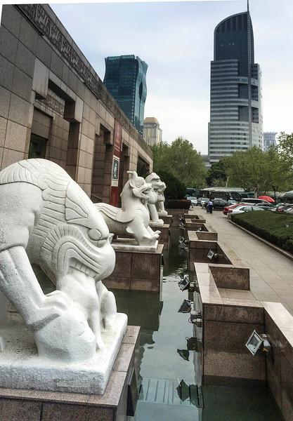 Shanghia Museum guardians