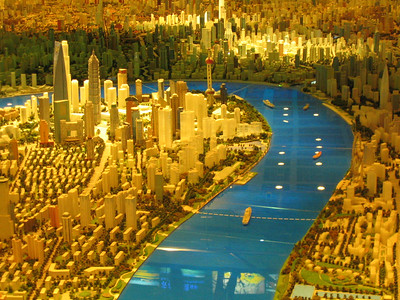At the Urban Planning Museum.