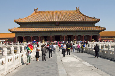 Beijing - Forbidden City - The Palace of Heavenly Purity.