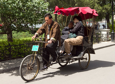 Beijing - Cycle Rickshaw for tourists.