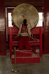 Beijing - Drum Tower - Beating of the drums.