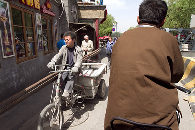 Beijing - Cycle Rickshaw tour around Beijing Hutongs.