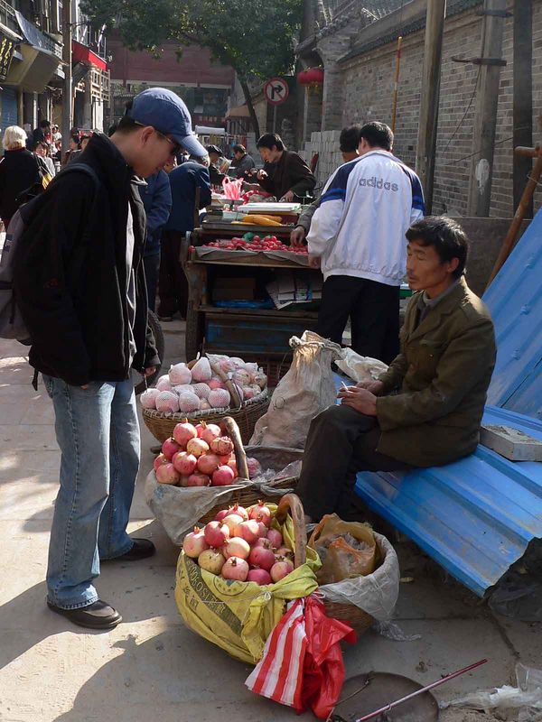 Street vendors, Xi'an China