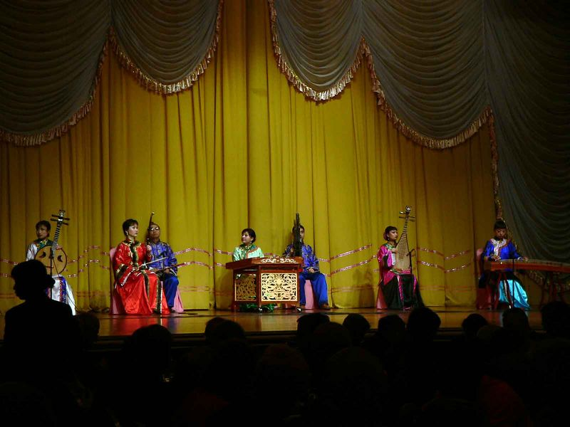 Opening act for the Tang Dynasty Dinner show, Xi'an
