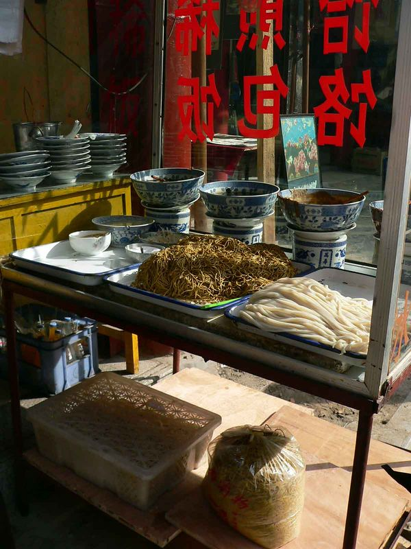 Noodle shop, Xi'an China