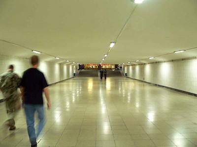 Underground walkways