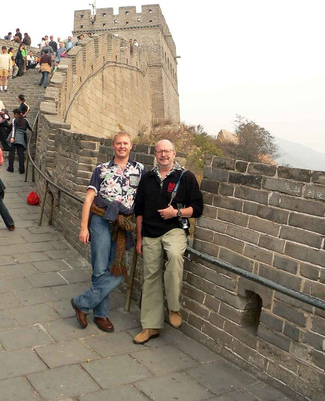 Me & Allen in the Great Wall of China at Badaling