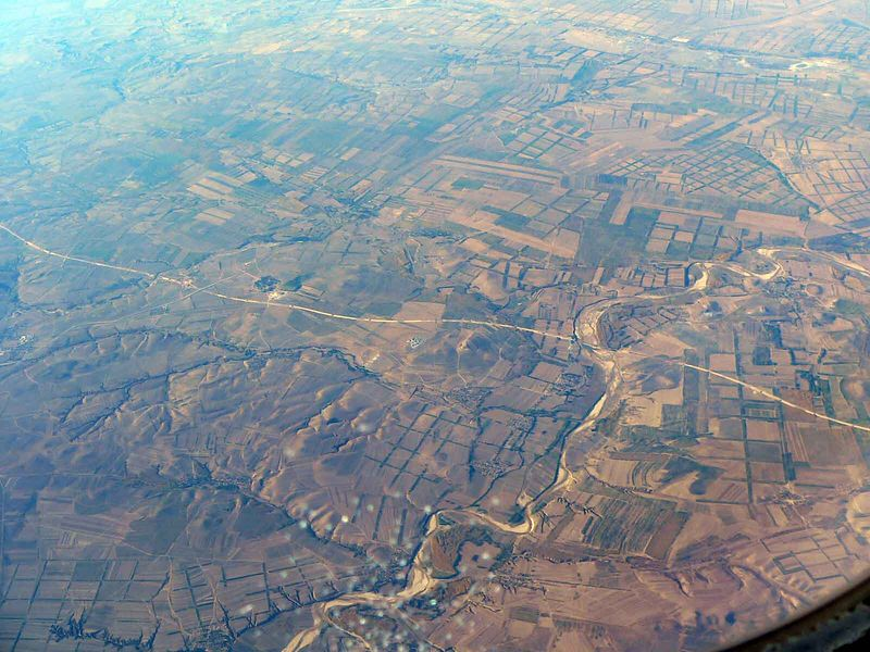 China from the plane