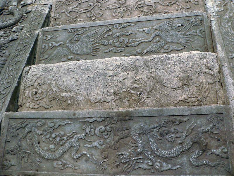 steps at Palace Museum Beijing