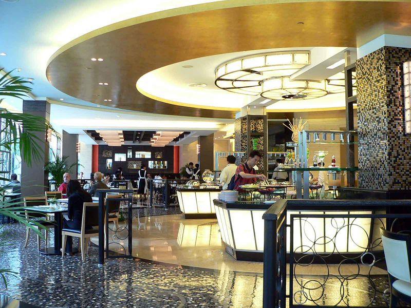 Buffet at New Otani Hotel, Beijing