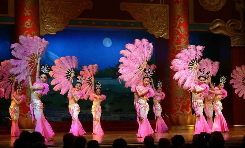 The Tang Dynasty Show, Xi'an China