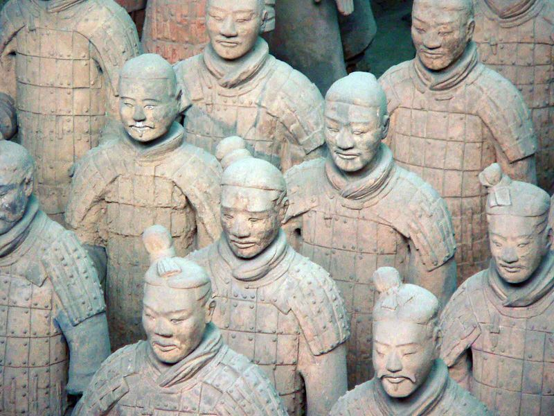 The amazing Terra Cotta Warriors, Xi'an China