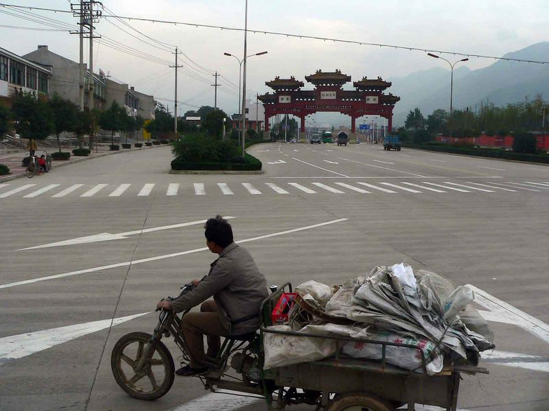 On the way to see the Terra Cotta Warriors, Xi'an