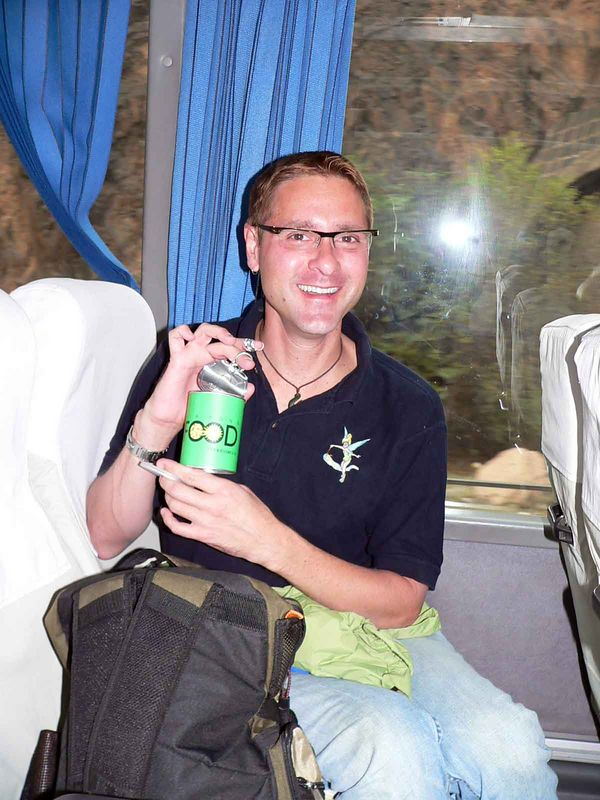 Blaze with a lovely can of green FOOD....glad it says what it is, we might have thought it was AIR!!