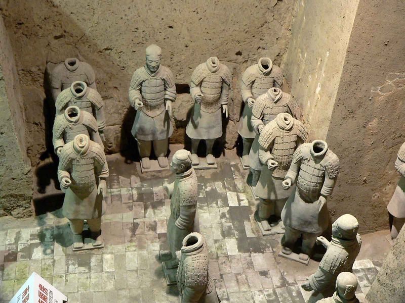 The amazing Terra Cotta Warriors, Xi'an China