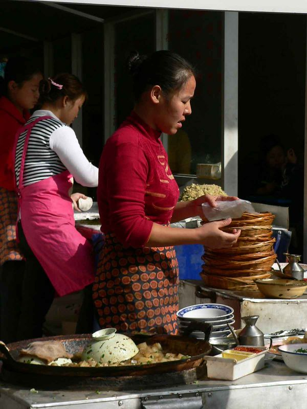 Street vendors, Xi'an China