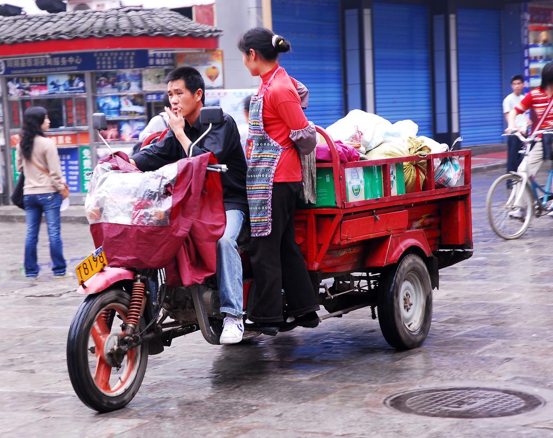 Hitchin a Ride - Yangzhou