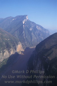 Qutang Gorge China before the Three Rivers Dam