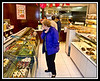 Judy in bakery.
