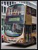 Modern double deck bus...