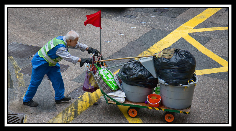 Hong Kong is quite a clean city...