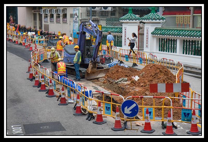 Street repair crew...