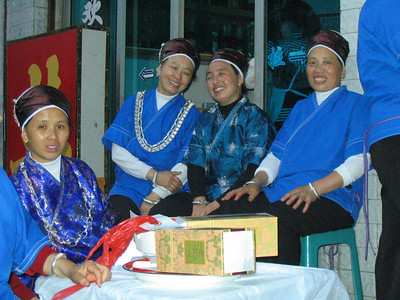 The Miao traditional dress.